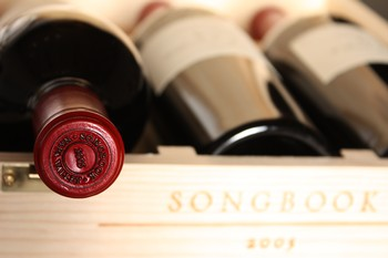 2005 Songbook Cabernet Sauvignon, Napa Valley, 3 bottles in Wood Box