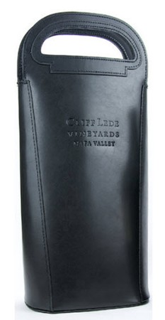 Leather Embossed Cliff Lede Vineyards Tote