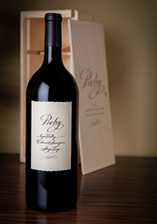 2015 Poetry Cabernet Sauvignon, Stags Leap District, 3L in Wood Box